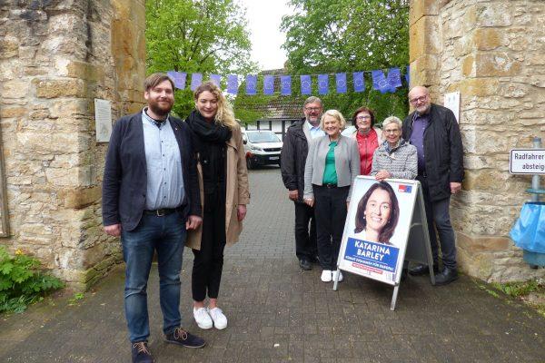 Gäste auf dem Europafest der SPD Werther